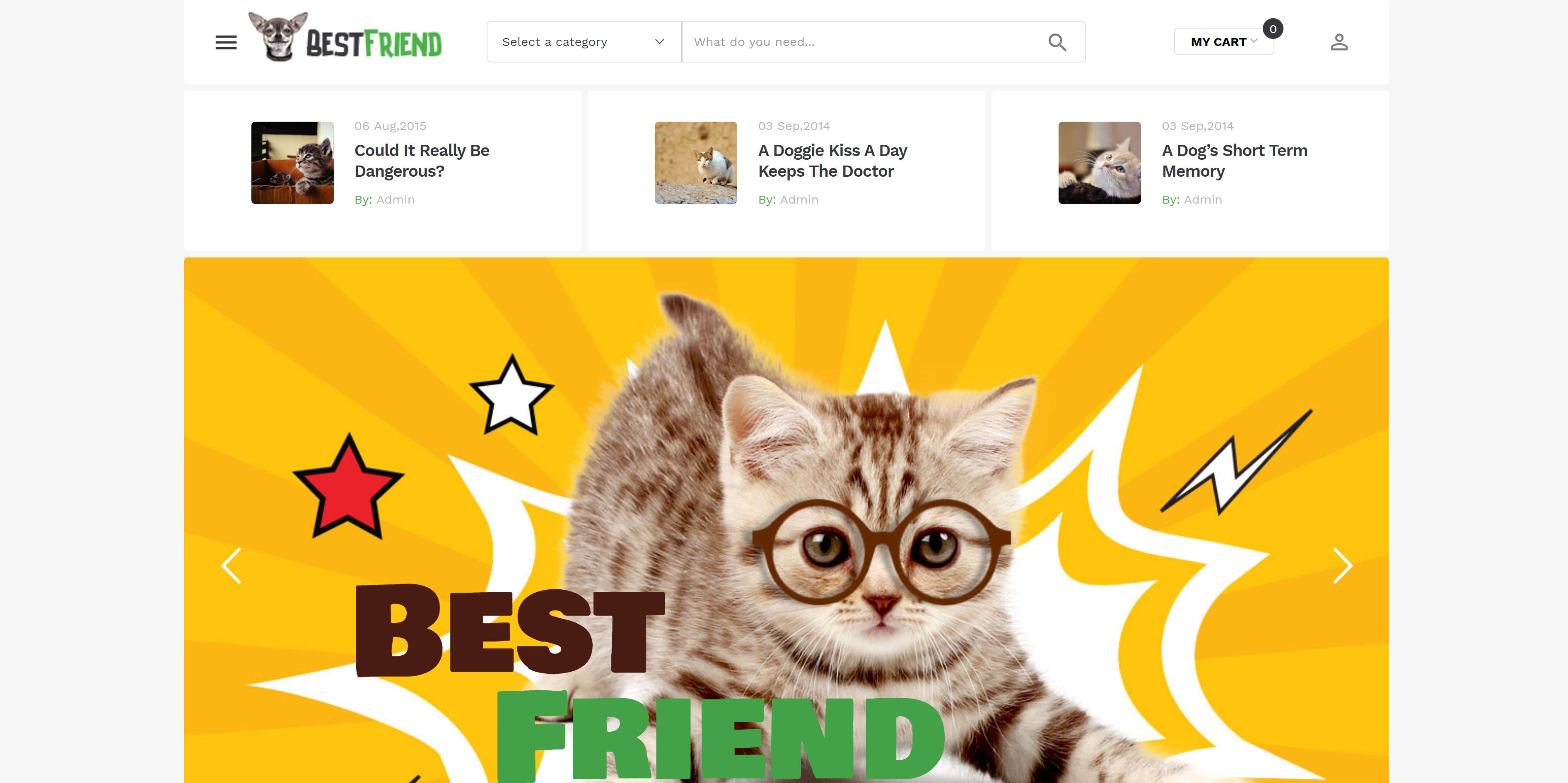 Bestfriend - Pet Shop