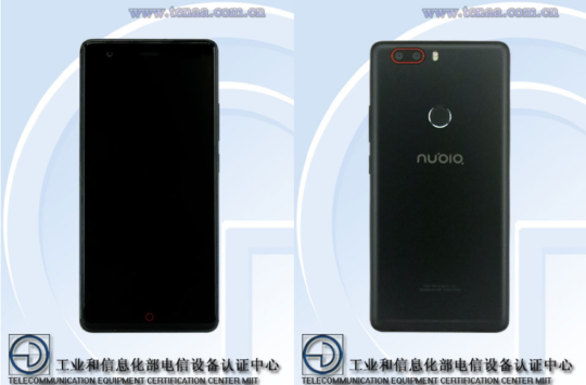 nubia z17 lite allegedly surfaces tenaa