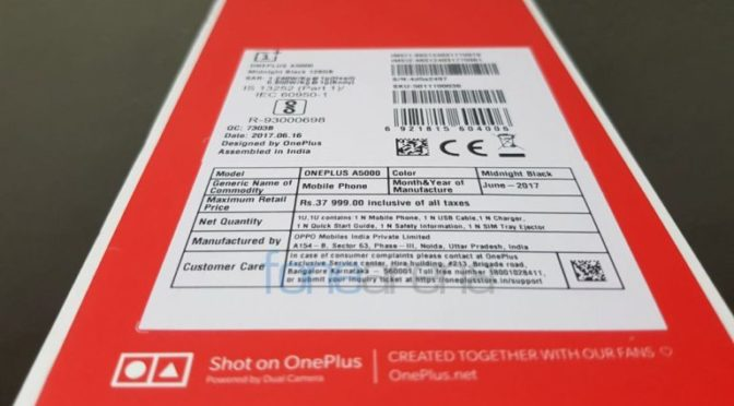 oneplus 5 manufactured oppo mobiles india private limited