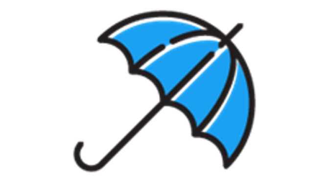 blue umbrella emoji twitter users enjoy monsoon season