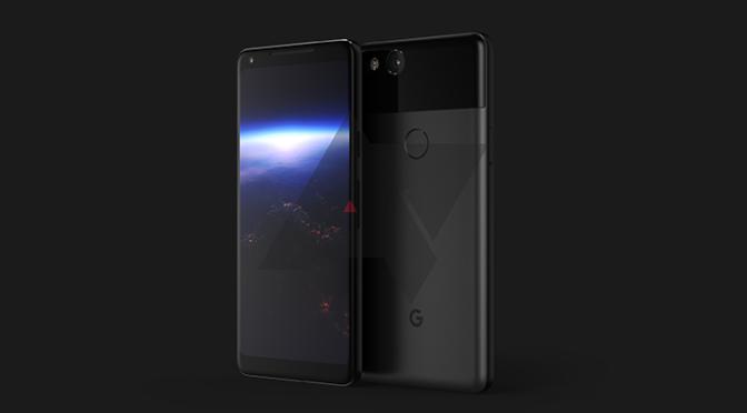 google pixel xl 2 design revealed new render