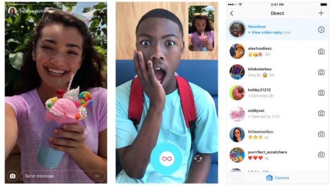 instagram new update gets photo video replies