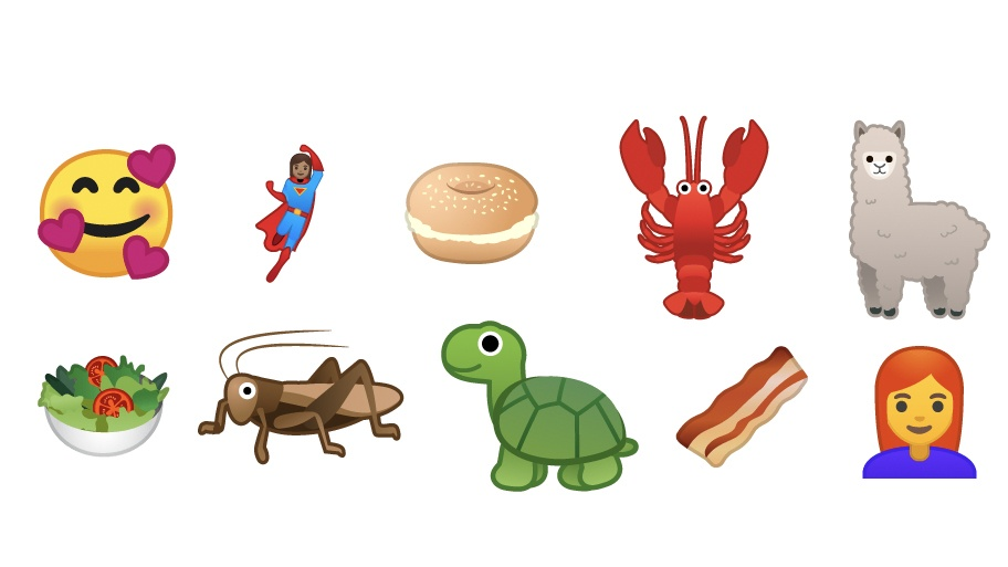 Android P beta 2 157 new emoji included properly cooked bacon