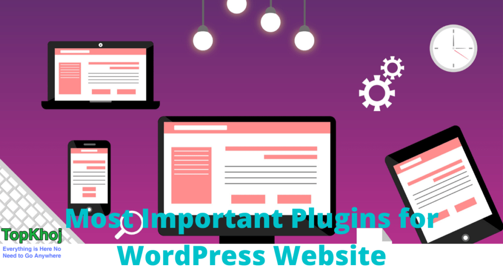 Most Important Plugins For WordPress Website