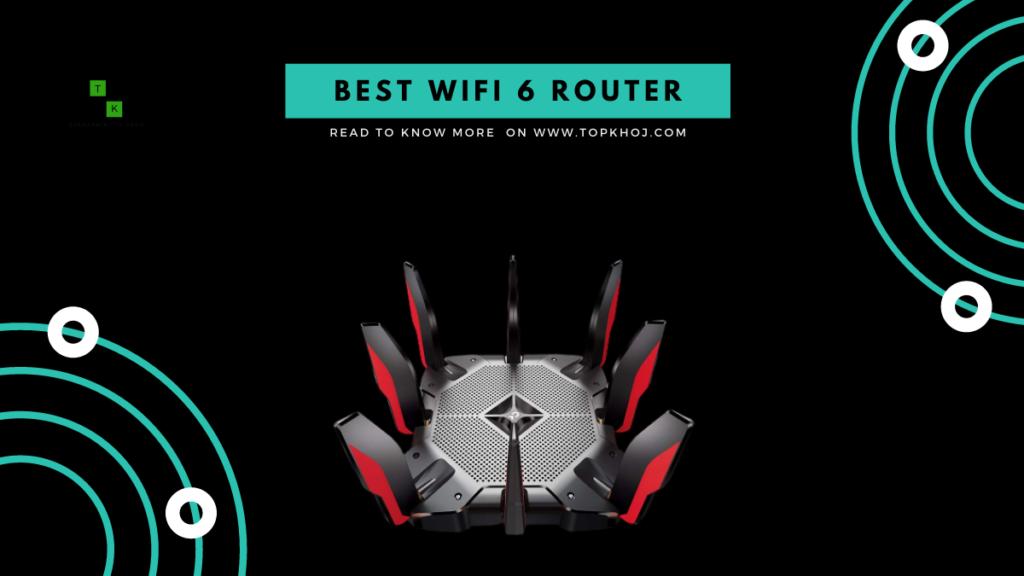 4 Best WiFi 6 Premium Router India 2021