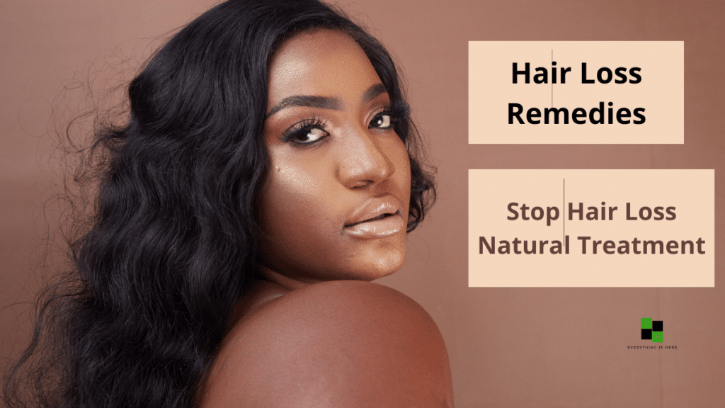 Hair Loss Remedies Stop Hair Loss Natural Treatment